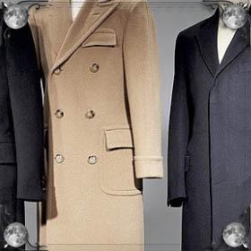 Пальто в магазине