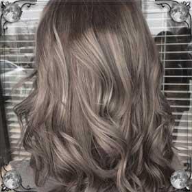 Перекрасила цвет волос