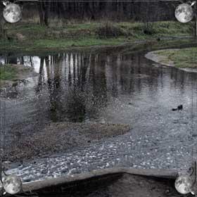 Пересохшая река