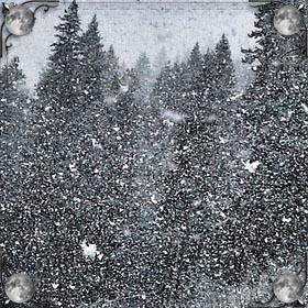Платье в снегу