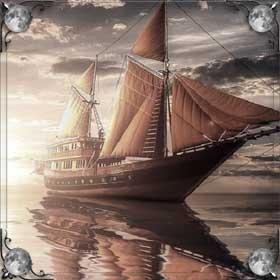 Плыть на корабле по морю