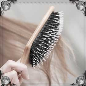 Подрезанные волосы