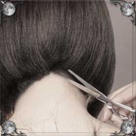 Подстригла волосы каре