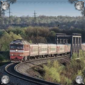 Поезд и ребенок