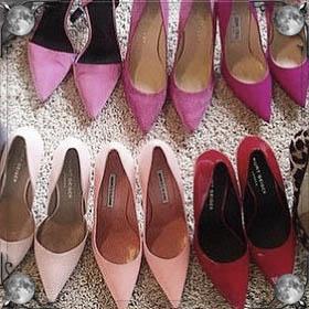 Покупать туфли