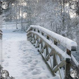 Прыгать в снег