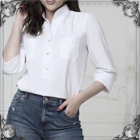 Примерять блузку
