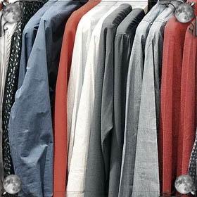 Примерять чужую одежду