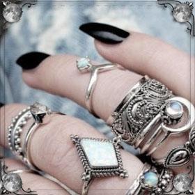 Примерять кольца
