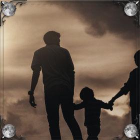 Пристает отец