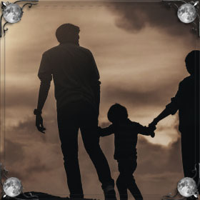 Приставал отец