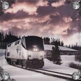 Провожать поезд