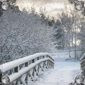 Пушистый снег
