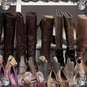 Разные ботинки