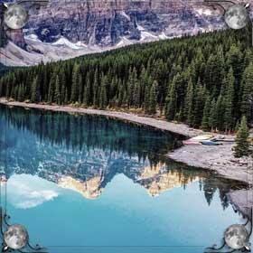 Река и лес