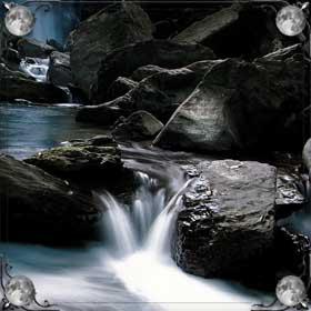 Река и волны