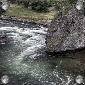 Река с быстрым течением