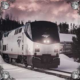 Сбил поезд