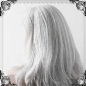Седые волосы у себя на голове