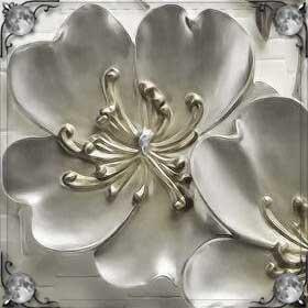 Серебряные цветы