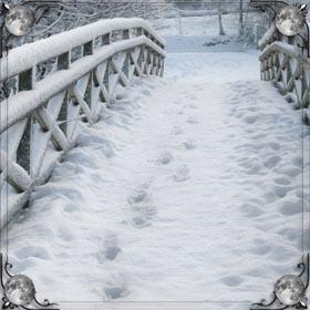 Сидеть на снегу