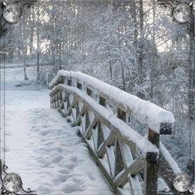 Сильный снег