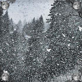 Снег в помещении