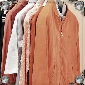 Собирать вещи и одежду