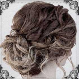 Собранные волосы