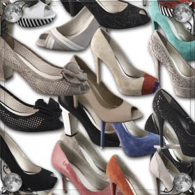 Туфли в магазине