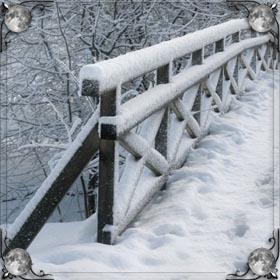 Убегать по снегу