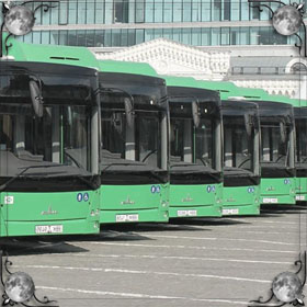Уехал автобус