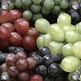 Угощать виноградом