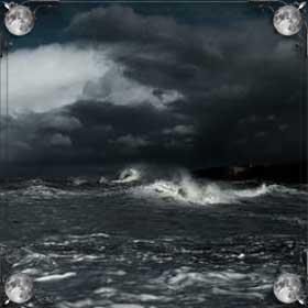 Утонуть в море