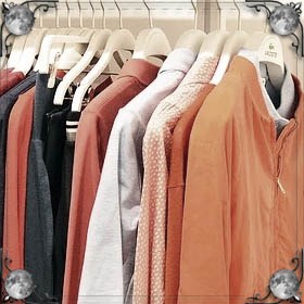 Вешать одежду