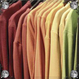 Выбирать новую одежду