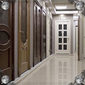Выходить в дверь