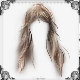 Волосы длинные красивые