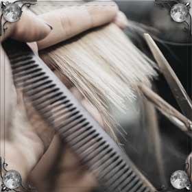 Волосы в зеркале