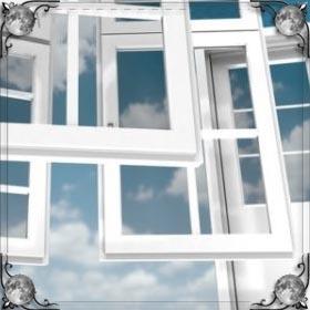 Ворона в окне