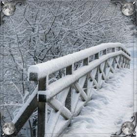 Застрять в снегу